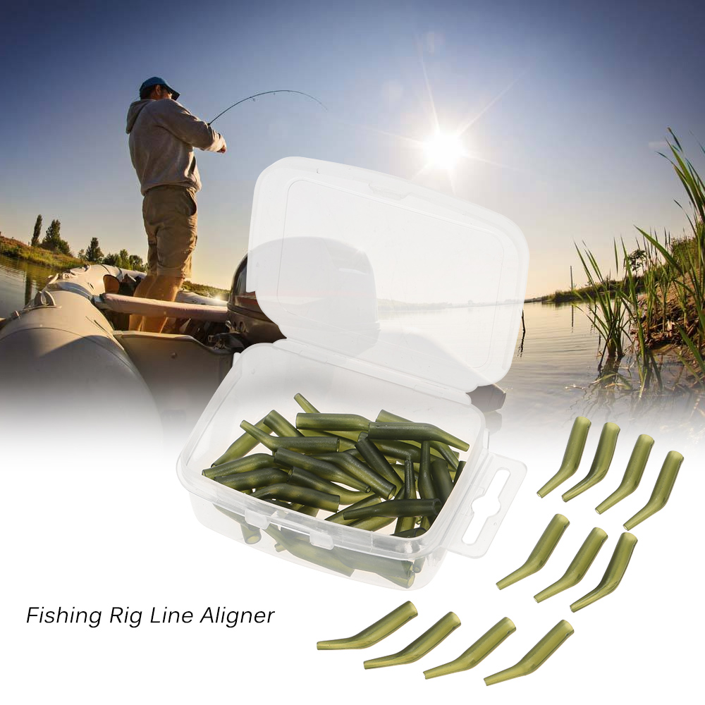 Pesca Da Carpa Rig Cabelo Manga Alinhador