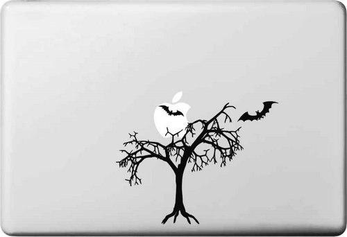 Мертвое Дерево и Летучей Мыши Виниловая Наклейка для Apple Macbook Air 11 12 13 Pro 13 15 17 Retina Наклейка Автомобиль Ноутбук Нескольких Скины Pegatinas