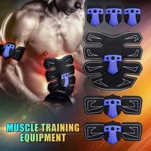 Muscle Stimulator Abdominal Slimming EMS Exerciser Muscle Trainer Stimulator Body Massager Fitness Accessories Men Women Sport