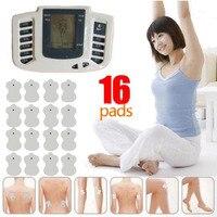 Assistenza Sanitaria Nuovo Stimolatore Elettrico JR-Completo Body Relax Muscle Massager, Pulse decine di Agopuntura con la terapia pantofola + 16 pastiglie