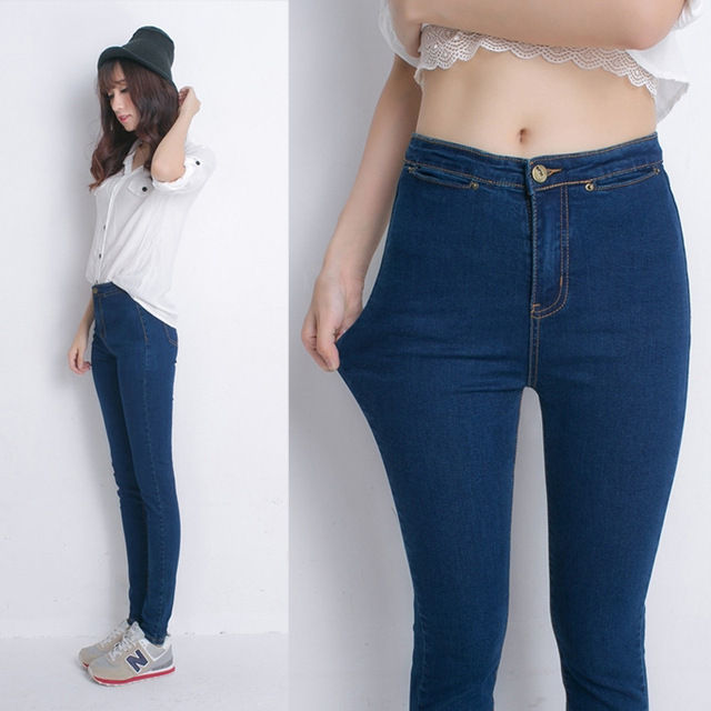 Aliexpress.com : Buy Autumn winter new Korean high waist jeans