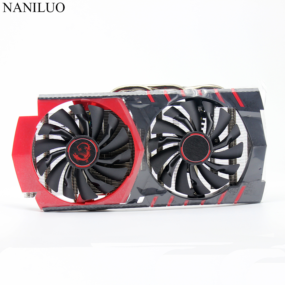 new 58MM PLD10010S12HH for MSI GTX960 <font><b>fan</b></font> <font><b>GTX</b></font> <font><b>960</b></font> <font><b>Fan</b></font> GAMING radiator <font><b>fan</b></font> heatsink Video card <font><b>fan</b></font> image
