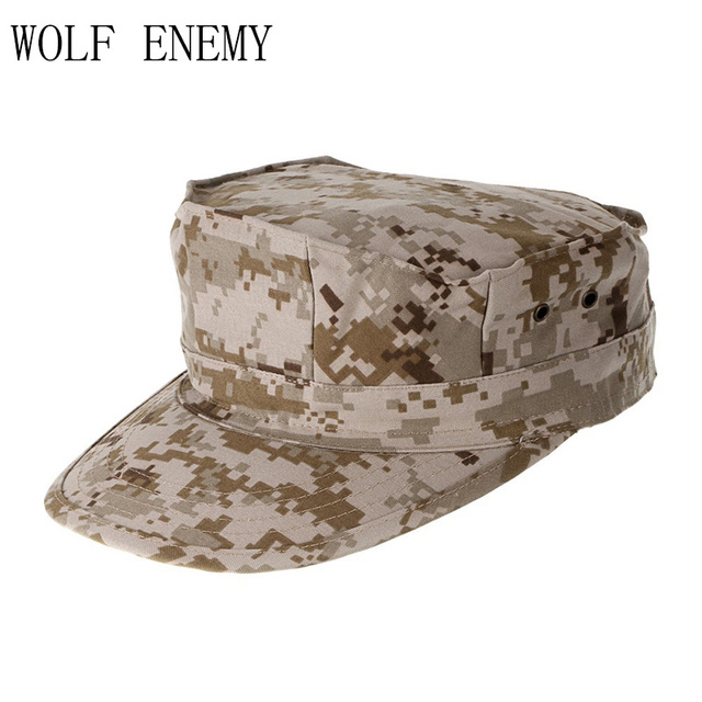 ACU CP Desert Multicam Militer Caps Army Woodland Digital Kamuflase Marinir  Topi Matahari Memancing Topi Taktis 6b5b03b5a6