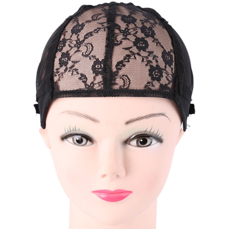 Hair Extensions & Wigs Nice 1 Pcs Double Lace Wig Caps For Making Wigs And Hair Weaving Stretch Adjustable Wig Cap Hot Black Dome Cap For Wig Hair Net Street Price