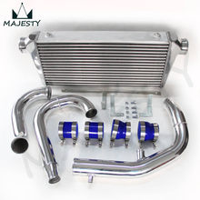 FRONT MOUNT INTERCOOLER KIT PIPING KIT FOR MI TSUBISHI LANCER EVO 7 8 9 NEW silicone hose color blue