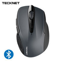 Bluetooth Wireless Mouse 24 Month Battery Life Mice With Battery Indicator 1200 1600 2000 2400DPI For