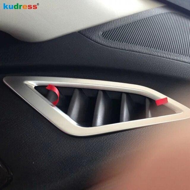 Per Mazda 3 Axela 2013 2014 2015 2016 2017 2018 Cruscotto Anteriore Air Condition Vent Trim Coperchio di Uscita Dash Lunetta cornice Decorazione