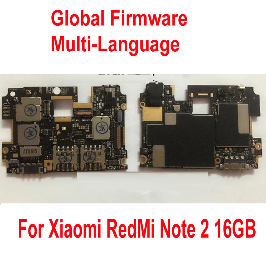Globale Del Firmware Originale Unlock Lavoro Mainboard Per Xiaomi Hongmi Redmi Nota 2 Note2 WCDMA tassa di Circuiti della Scheda Madre cavo della flessione-in Accessori porta cellulare da Cellulari e telecomunicazioni su  Gruppo 1