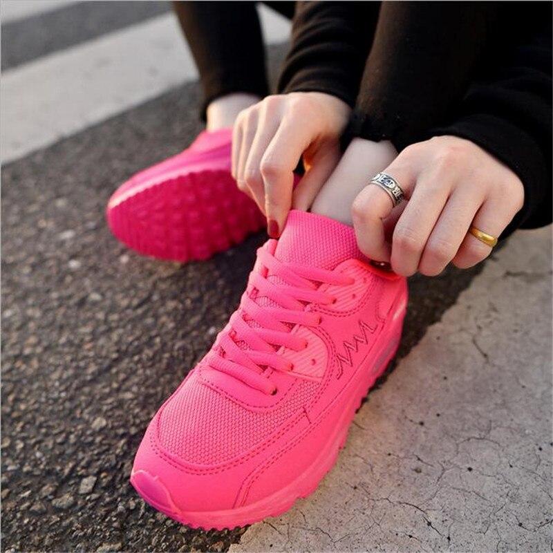 Fashion Korean Women Shoes Spring Tenis Feminino Casual Shoes Outdoor Walking Shoes Women Flats Lace Up Ladies Sneakers SX557
