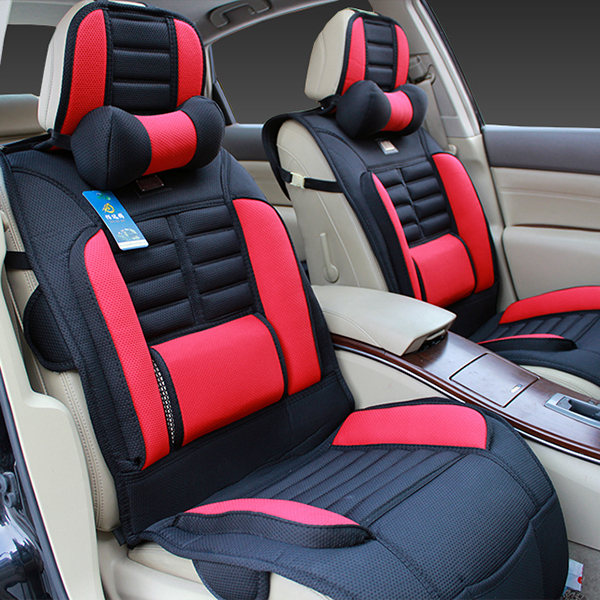Car Seat Cover Cushion Sandwich Upholstery Fabric Breathable Sedan