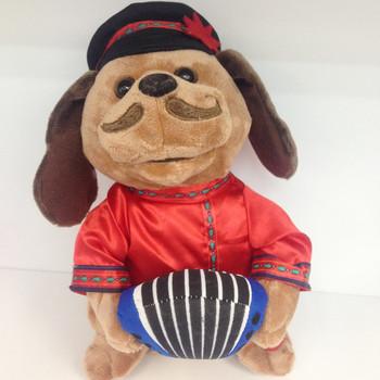2018 rosyjski akordeon pies śpiew taniec elektroniczny zwierzak psy figurka lalka nadziewane i pluszowe zabawki dla dzieci prezent dla dzieci tanie i dobre opinie JUSURE NO SWALLOWING JS-52 Pp bawełna 5-7 lat 14 lat Dorośli 2-4 lat 8 ~ 13 Lat 11 cm-30 cm Zwierzęta i Natura 30cm