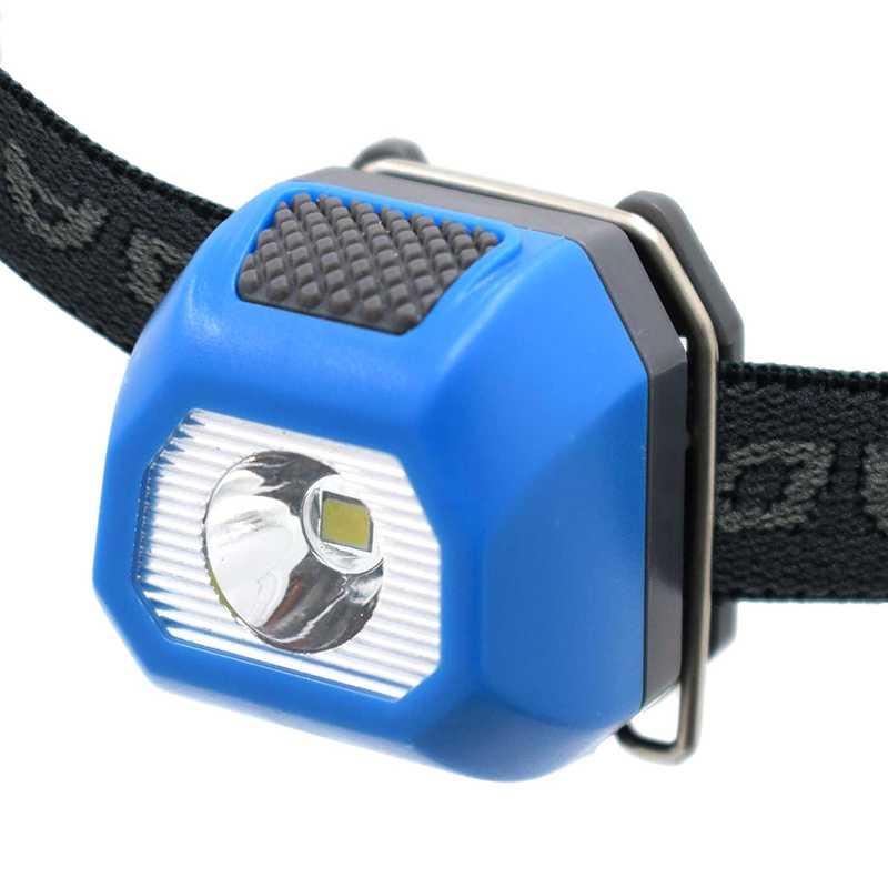 DEL Lampe de poche Mini Zoomable torche USA rechargeable Lumière Flash Rouge Vif