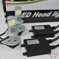1 conjunto de led H16 PSX24W CREE farol do Carro 6000 K lâmpada LED 2400 Lumens 12 V 24 V faróis do carro iluminação do carro H1/H3/H7/H11/9005/9006