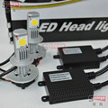 1 set  led H16 PSX24W Car headlight CREE 6000K LED lamp 2400 Lumens 12V 24V car headLights car lighting H1/H3/H7/H11/9005/9006