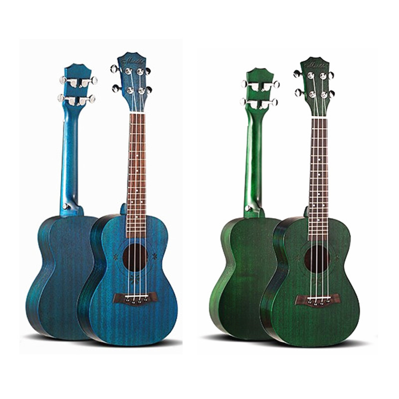23 inch Mahogany  Ukulele Soprano Concert Tenor Acoustic  Guitar Guitarra Musical Instrument ukulele 26 inch mahogany soprano ukulele combo bass guitar guitarra musical instrument set for beginner with kit strap bag picks string