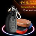 2016 New Women Men's Genuine Leather Car Key Free Shipping for HYUNDAI Elantra Avante MISTRA Tucson IX35 IX25 sonata89 VERNA