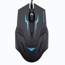 Malloom New 1600 DPI 3 Button Optical USB Wired Gaming Mouse Mice For PC Laptop PC Computer