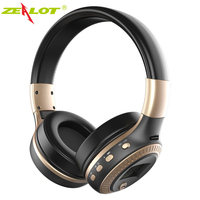 ZEALOT B19 Wireless Headphones LCD Display Hifi Bass Stereo Sports Headset Bluetooth With Mic FM Radio SD Card For Xiaomi Iphone