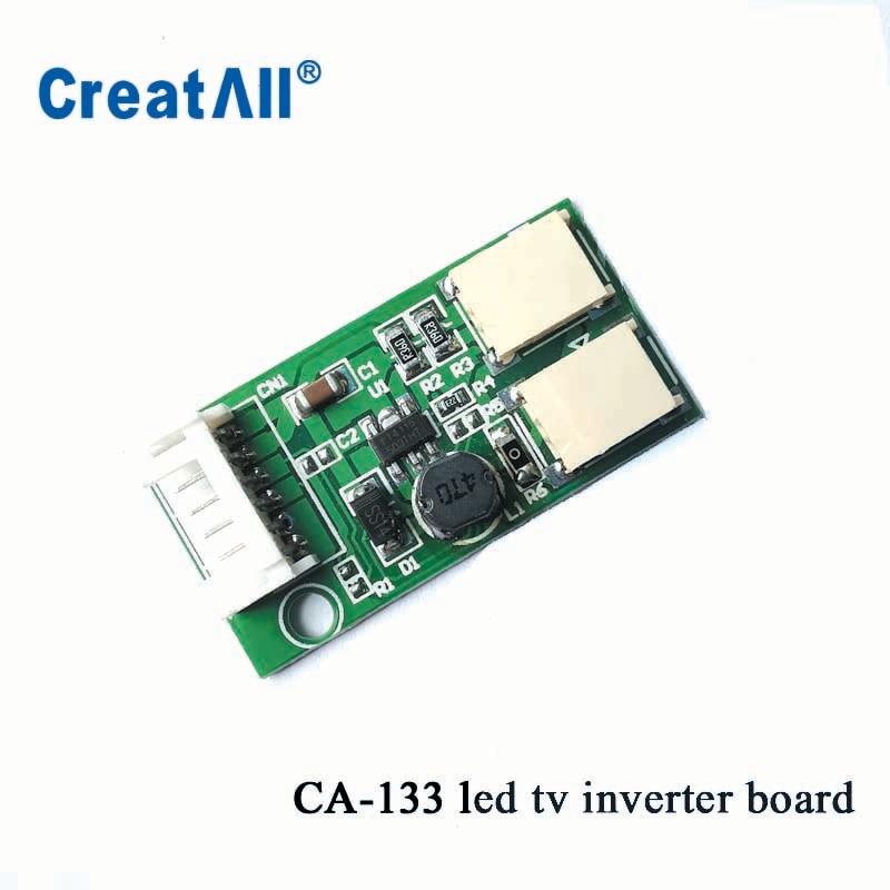 100pcs/lot CA-133 9.6V Output LED Constant Current Board Down-voltage Double Lamp LED Universal Inverter For Led Panel