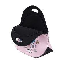 Women's Cartoon Unicorn Patterned Thermal Bag