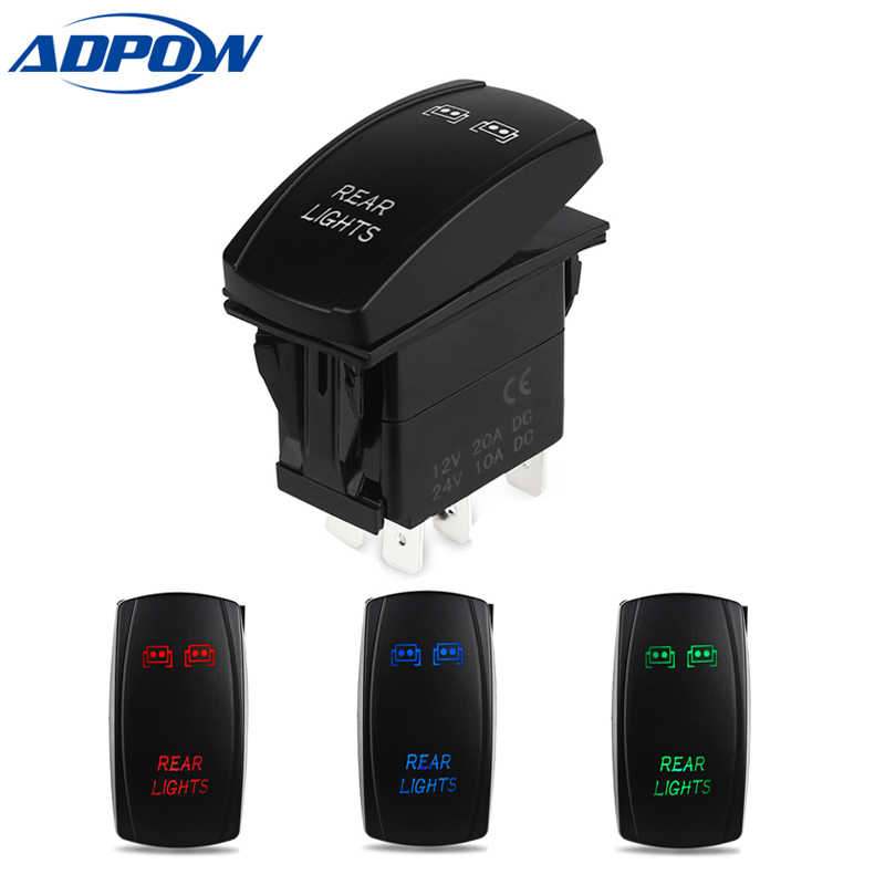 Detail Feedback Questions about 5Pin 12V Car FAN OVERRIDE Switches