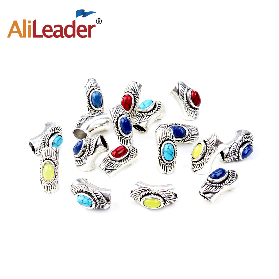 Alileader Dread Beads For Hair Extension Micro Rings Tube Best Quality Hair Rings 20Pcs/ ...