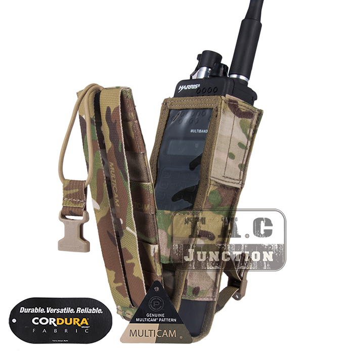 Emerson Tactical MOLLE Universal MBITR PRC 148 PRC 152 Radio Pouch EmersonGear Walkie Talkie Pocket For for Attaching RRV Vest