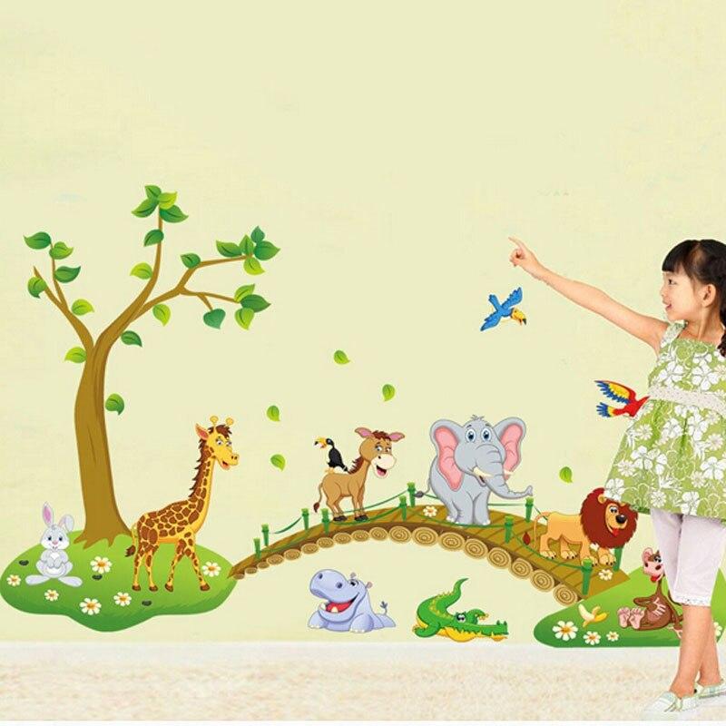 Dorable Jungle Nursery Wall Art Sketch - All About Wallart ...