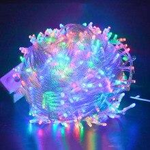 Гирлянда фея шнура рождественские свадьбы строка рождество партия света светодиодные м