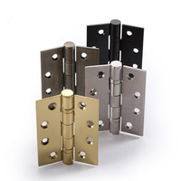 1 Pair High Quality Stainless Steel Door Hinge 4inch 3 Inch 3 0mm