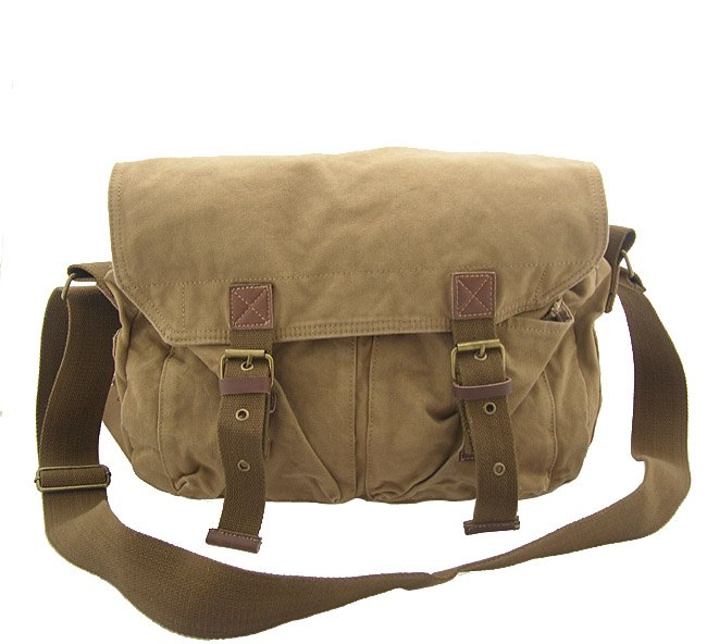 Aliexpress.com : Buy 2361 khaki men's shoulder bag, 100% cotton ...
