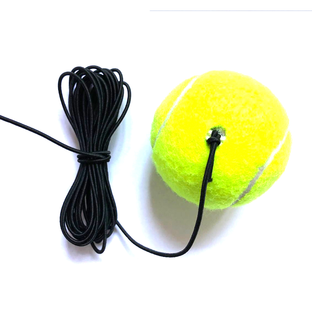 Fire sales Belt line tennis training elastic Tennis Ball With String Trainer Replacement Rubber Woolen Training Sport free post