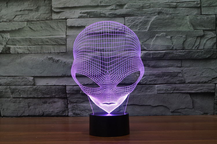 Visão Luz de Energia USB Presente Decoração Da Lâmpada de Mesa