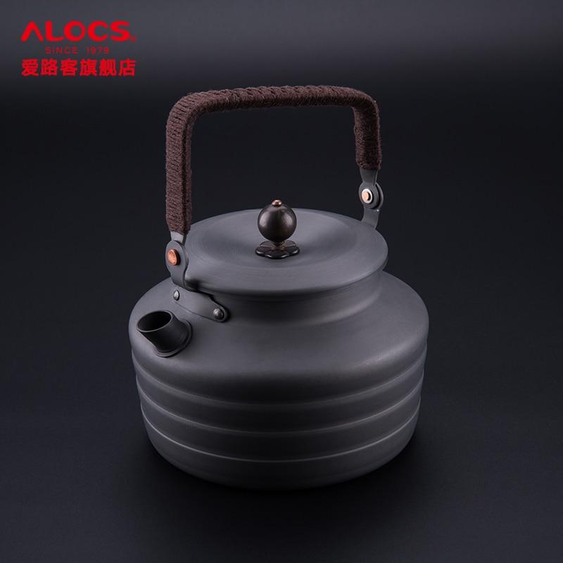 Alocs guest find tang kettle 1.3 L kettle portable outdoor folding teapot wild camping teapot kettle чайник походный alocs love road off cw k04 alocs cw k04 pro