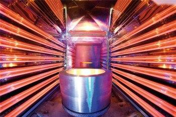 Único Tubo De Fibra De Carbono Da Lâmpada IR IR Aquecedor para Impressora