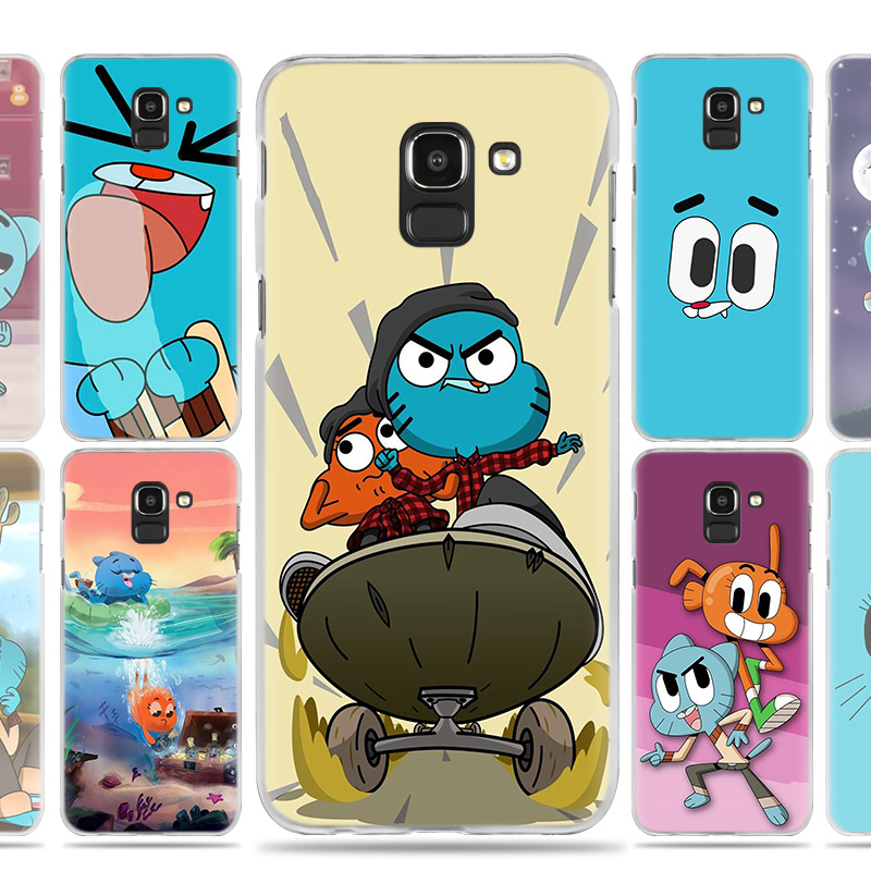The Amazing World Gumball gumball Case Cover for Samsung Galaxy J7 J5 J8 J6 J4 J3 J2 Plus Prime 2017 2018 2016 J8+ J6+ J4+ Coque