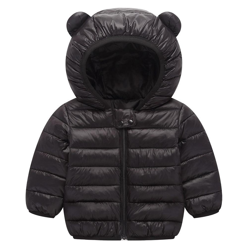 c72f2ce5a440 Autumn Winter Little Girl Down Baby Outerwear Light Children Clothing Boy  Jacket Winterjas Meisjes Girls Coat