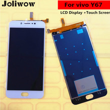 цена на Tested! For vivo Y67 LCD display + Touch Screen+Tools Digitizer Assembly Replacement Accessories For vivo Y67  5.5