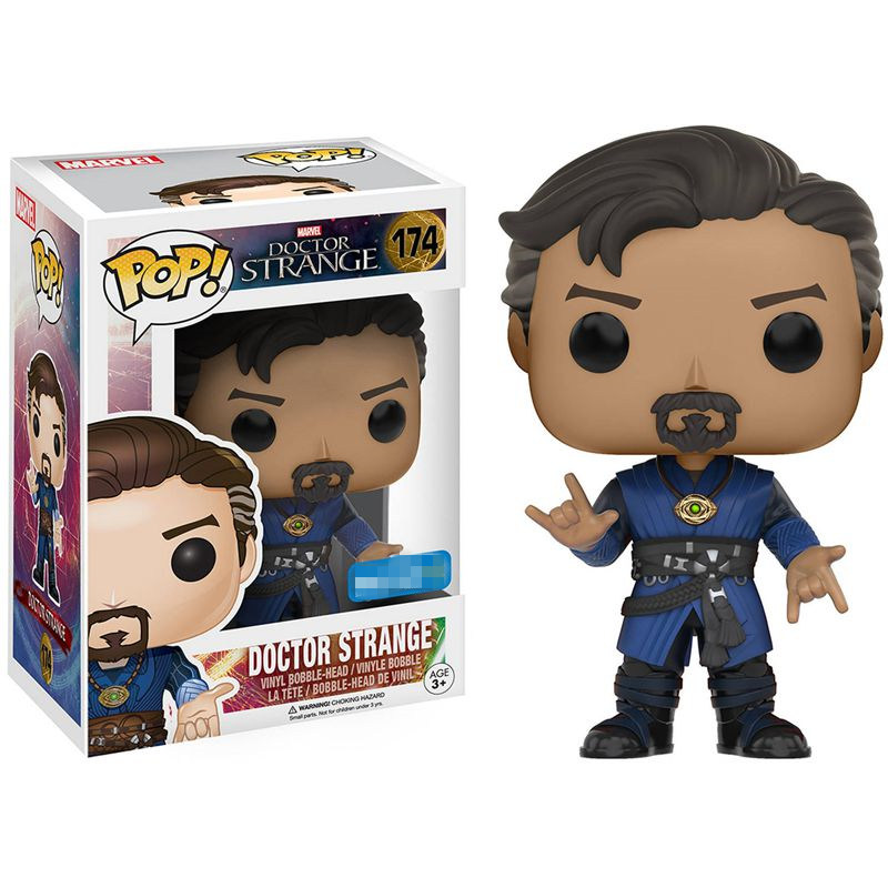 2016 Exclusive Funko <font><b>pop</b></font> Marvel Doctor <font><b>Strange</b></font> - <font><b>Dr.</b></font> <font><b>Strange</b></font> #174 <font><b>Vinyl</b></font> Figure Collectible Model Toy with Original Box