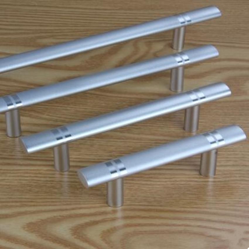 96mm 128mm 160mm 192mm modern simple matte silver wardrobe