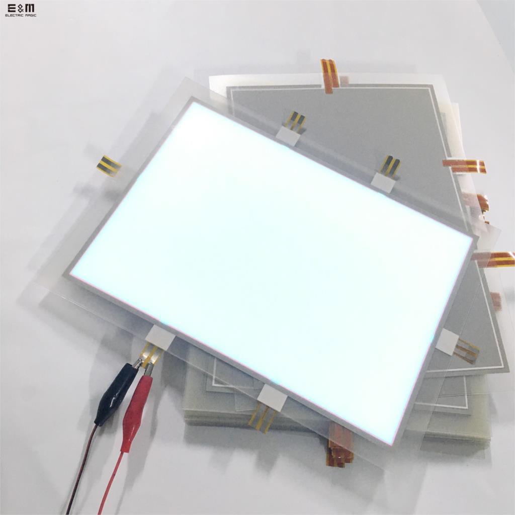 Scalable Foldable EL Electroluminescent Panel Module High Brightness Flexible Backlight PC Moniter Sign Billboard DIY Customized