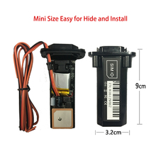 Mini Waterproof Builtin Battery GSM GPS tracker vehicle tracking device with online tracking system software