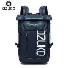 OZUKO Brand Men Travel Backpack 2018 New Style Casual School Bag for Teenagers 14-15 inch Laptop masculina Shoulder Bags Mochila