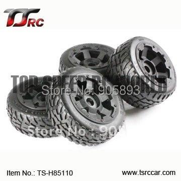цена на 5B Front Highway-road Wheel Set TS-H85110)  x 4pcs for 1/5 Baja 5B, SS , wholesale and retail
