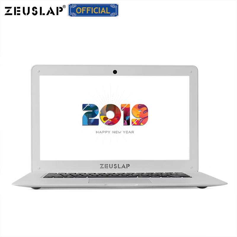 ZEUSLAP 14inch 8G RAM+500GB HDD Intel Pentium Quad Core Windows 10 System 1920X1080P FHD Home Office Notebook Computer Laptop