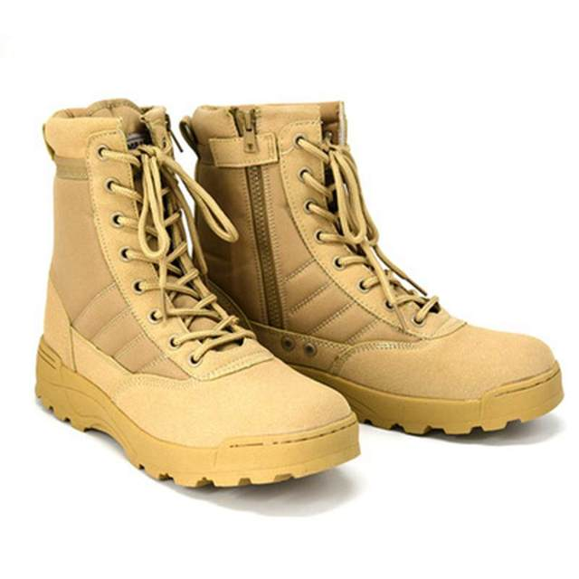 Men Tactical Waterproof Safety Boots 2