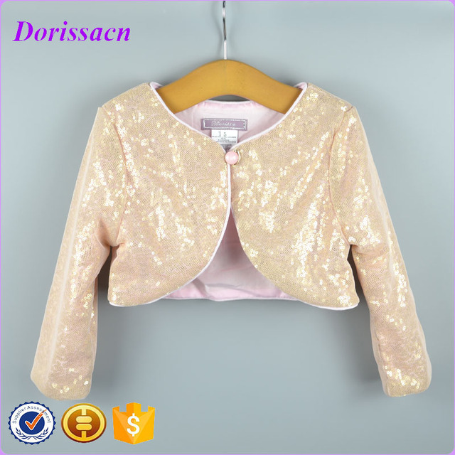 1504210b3 New Style Baby Wear Bolero Child Children s Outwear Shrug Glitter ...