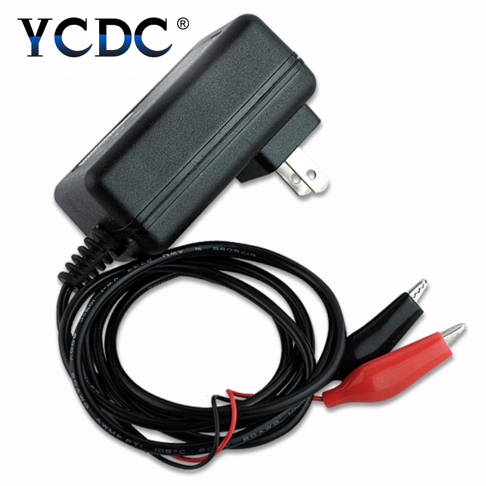 Ycdc wholesale original 6v 1a smart lead acid battery charger car battery charger pulse charge