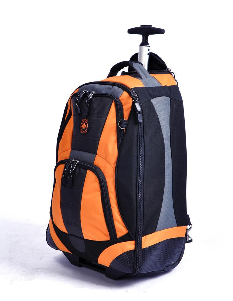 Outdoor Sport Utility Trolley Backpack Mute Roller Suitcases 22