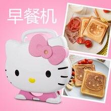 SW0054 Gift cat waffle sandwich bread machine electric baking pan breakfast